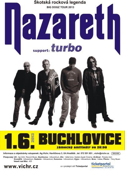 NAZARETH + Turbo